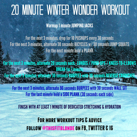 Winter Wonder Workout