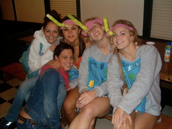 No idea which frat house we were in but -- UNC - Oct 31, 2005