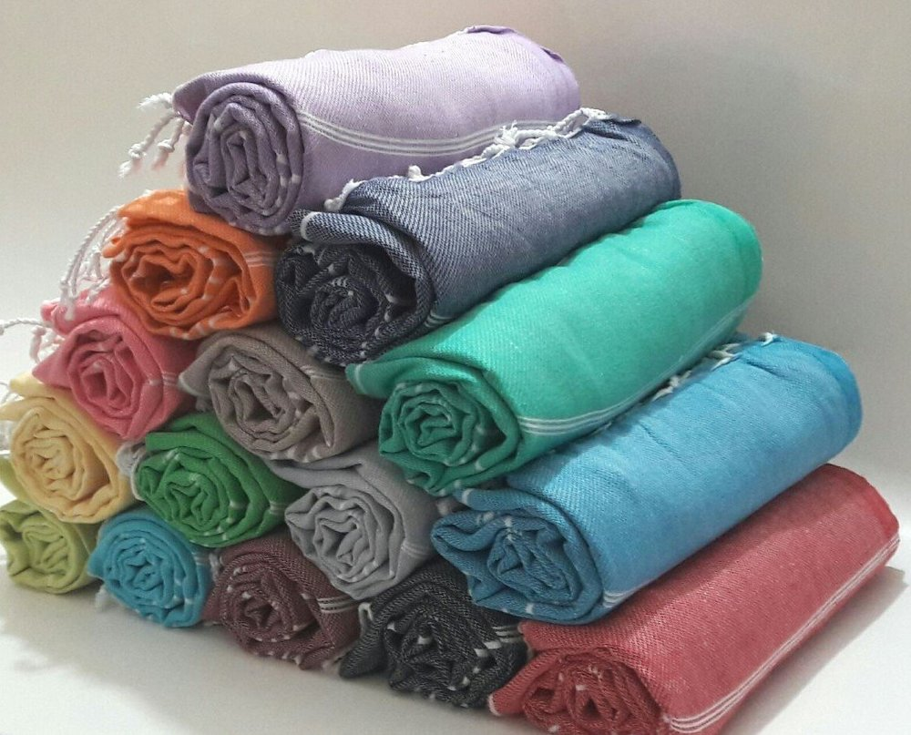Paramus Set of 6 XL Turkish Cotton Peshtemal Towels - $39.00