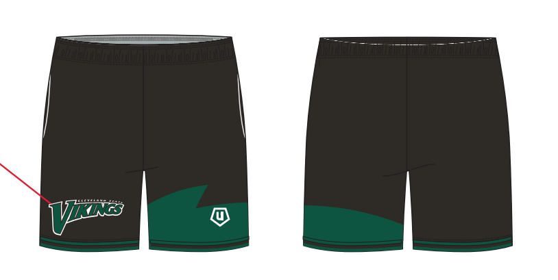 Viking Lacrosse Winter Prospect Day Shorts
