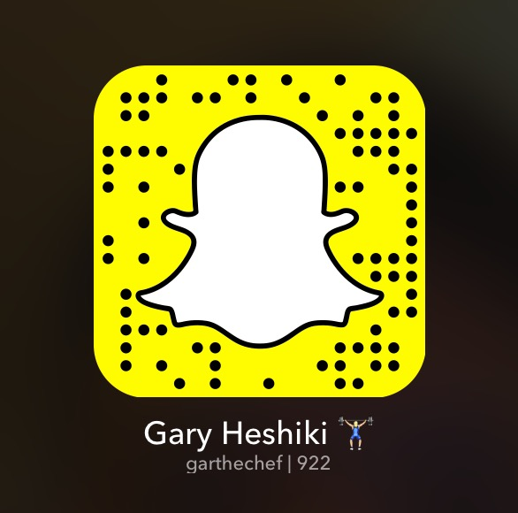 Add me on Snapchat for recipe walk through, occasional exercise, goofiness and cats!