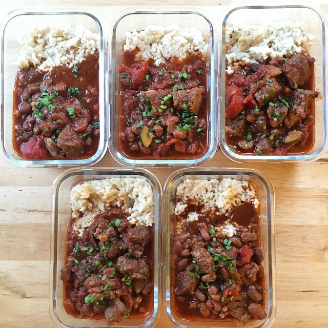 Beef Chuck Chili > Ground Meat Chili