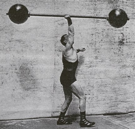 Sort of wish we still had these old-time looking weights