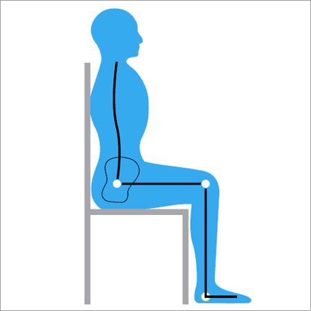Correct seated posture