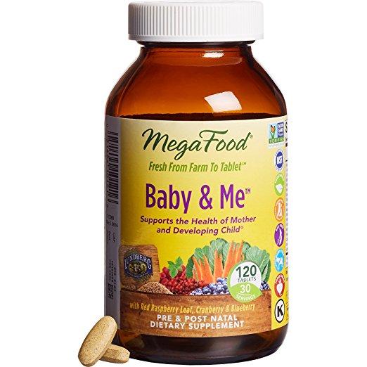MegaFood Baby & Me prenatal vitamin