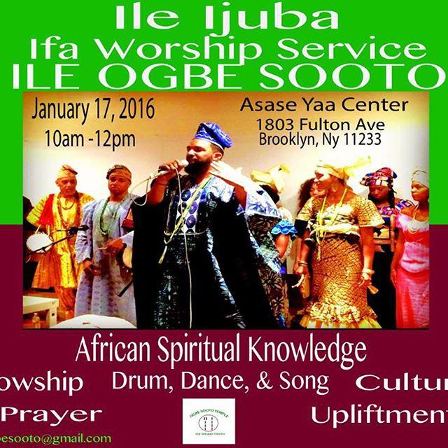 Ile Ijuba Ifa Worship Service Ile Ogbe Sooto — 256 HEALING ARTS