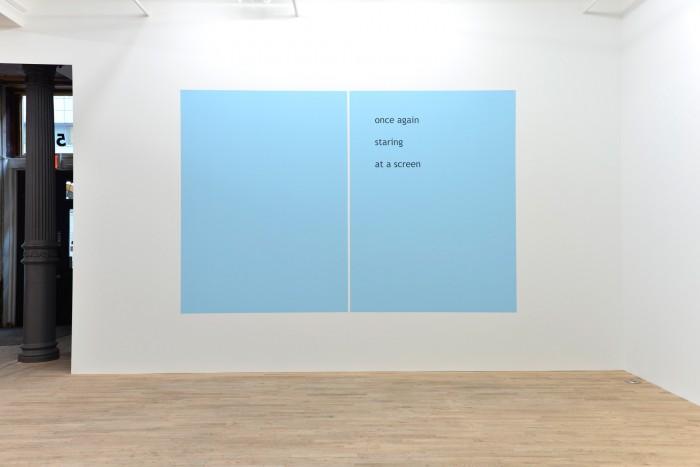 Haiku exhibition, Postmasters Gallery, New York