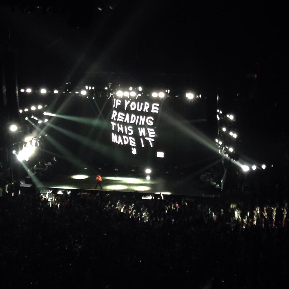 Toyota Center. May 24, 2015.  Houston, TX.