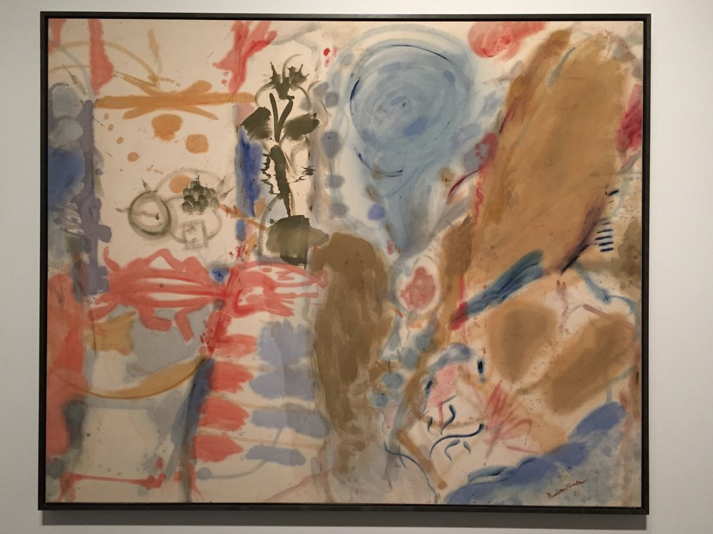 Work by Helen Frankenthaler