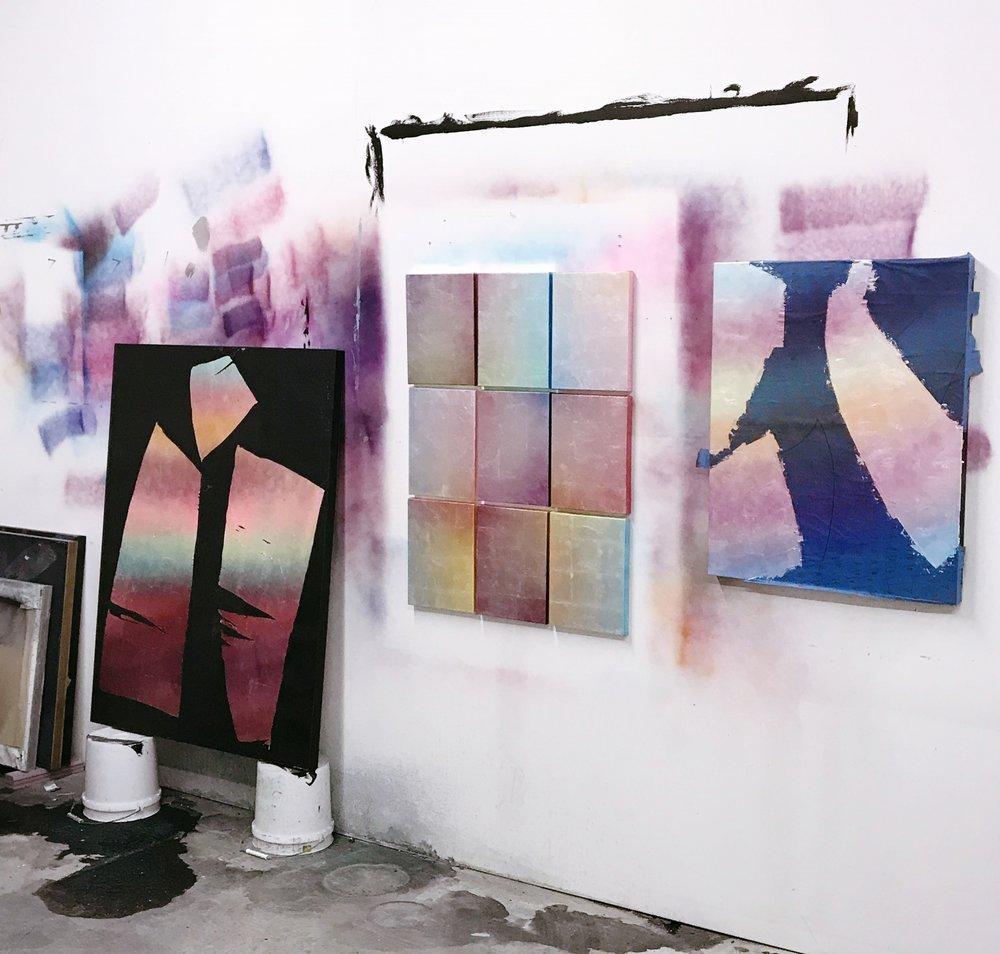 Shirley's studio