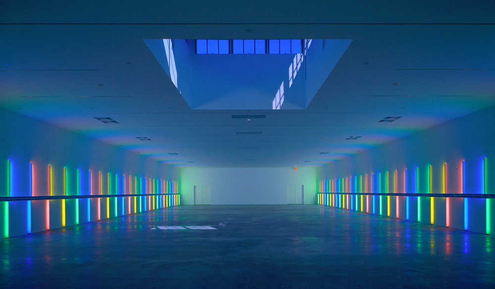 Dan Flavin Installation | Photo: Hickey-Robertson
