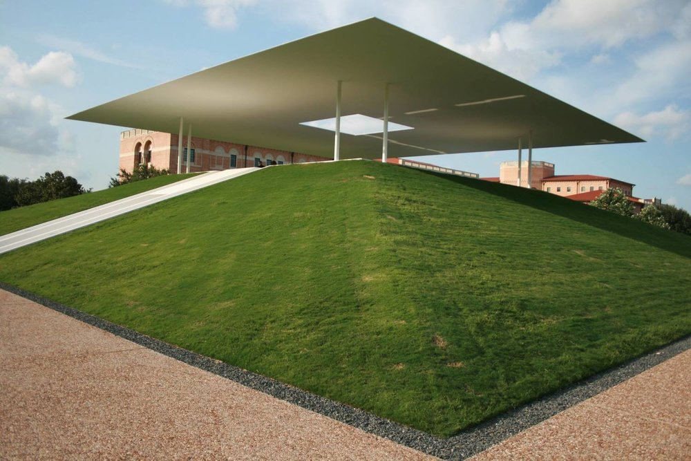 James Turrell, 2012,  Twilight Epiphany , Rice University. Photo: Sontera Dresch