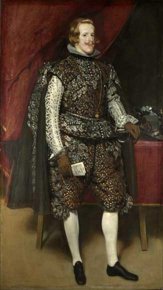 Philip IV in Brown and Silver  , 1632