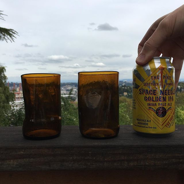 Sharing is the best way to enjoy something deliciously, wonderfully, Northwest.  #spaceneedleipa