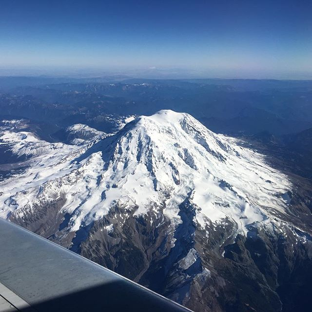 Mt Rainier. Just awesome. #latergram