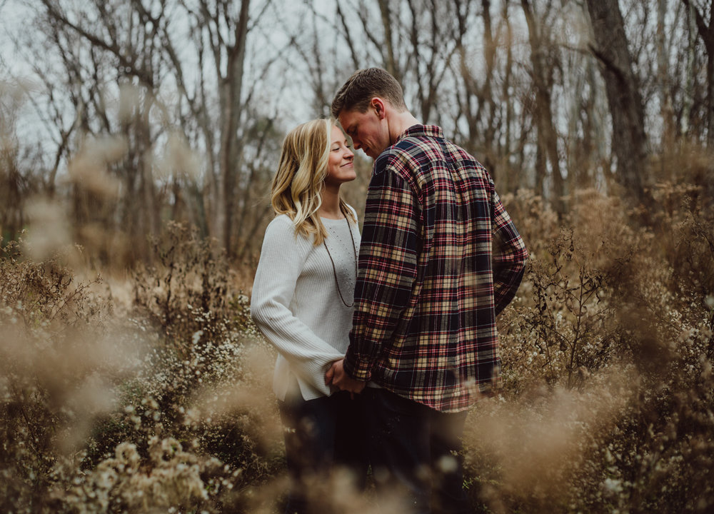 alex & jake | indianapolis engagement photography