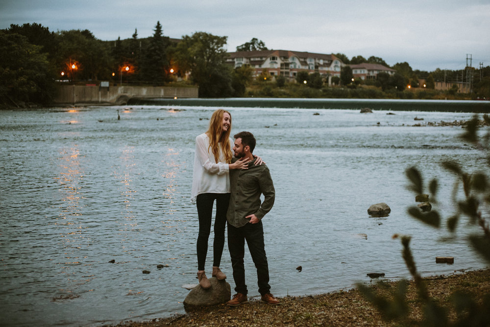 taylor & jon | geneva engagement photography