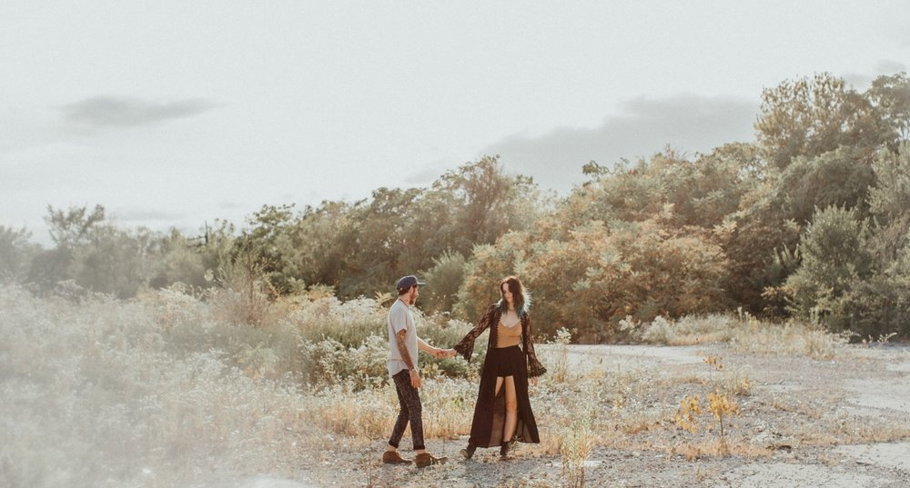 Midwest Desert - Indianapolis Engagement Photo