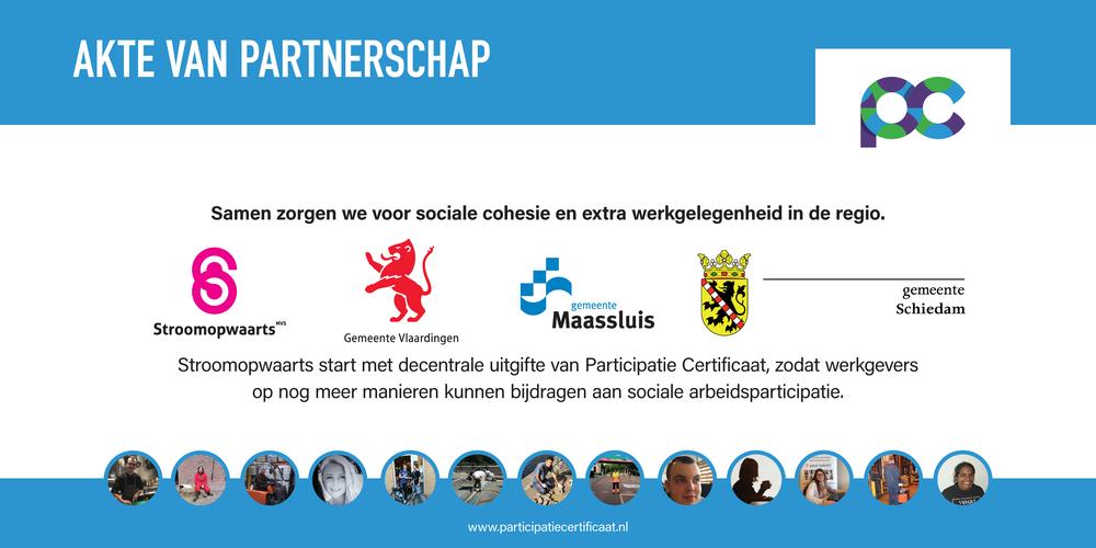 De akte van partnerschap om de samenwerking te beklinken.