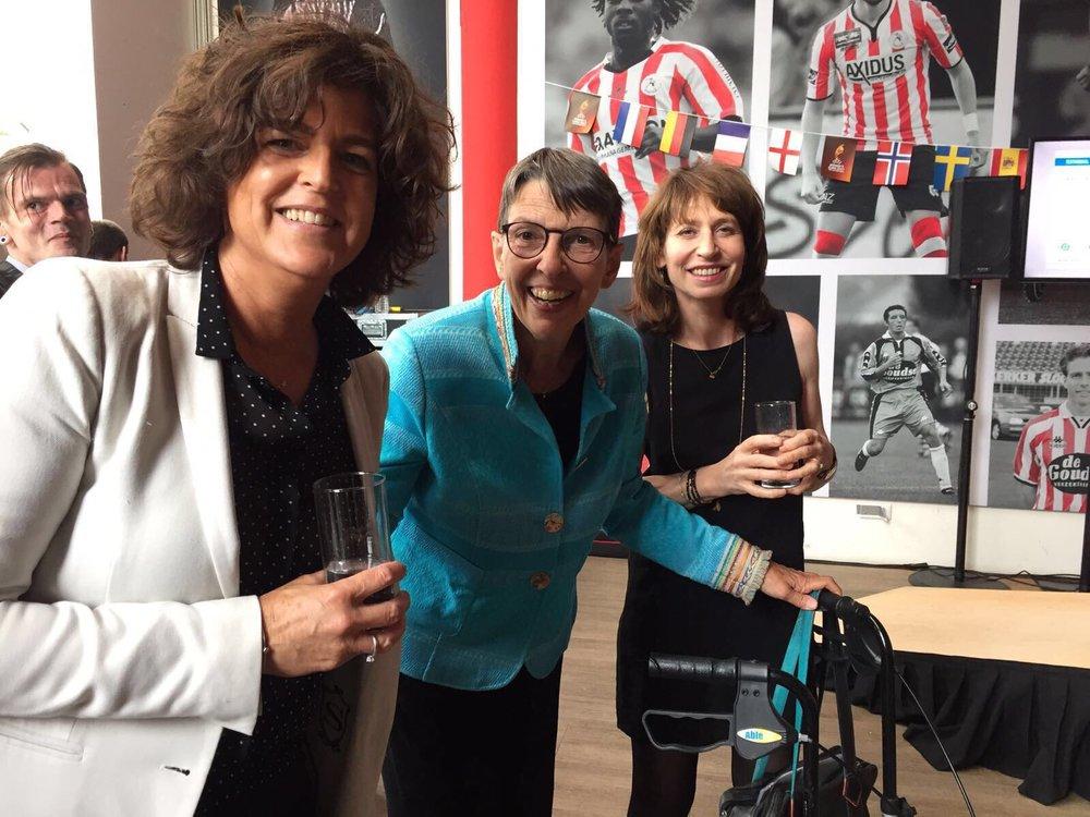 Sabine de Jong, Jetta Klijnsma, Lineke Rijxman