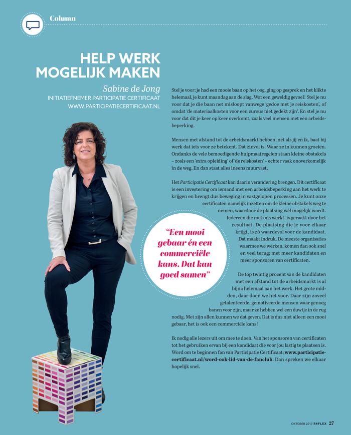 Gastcolumn ABU Sabine de Jong