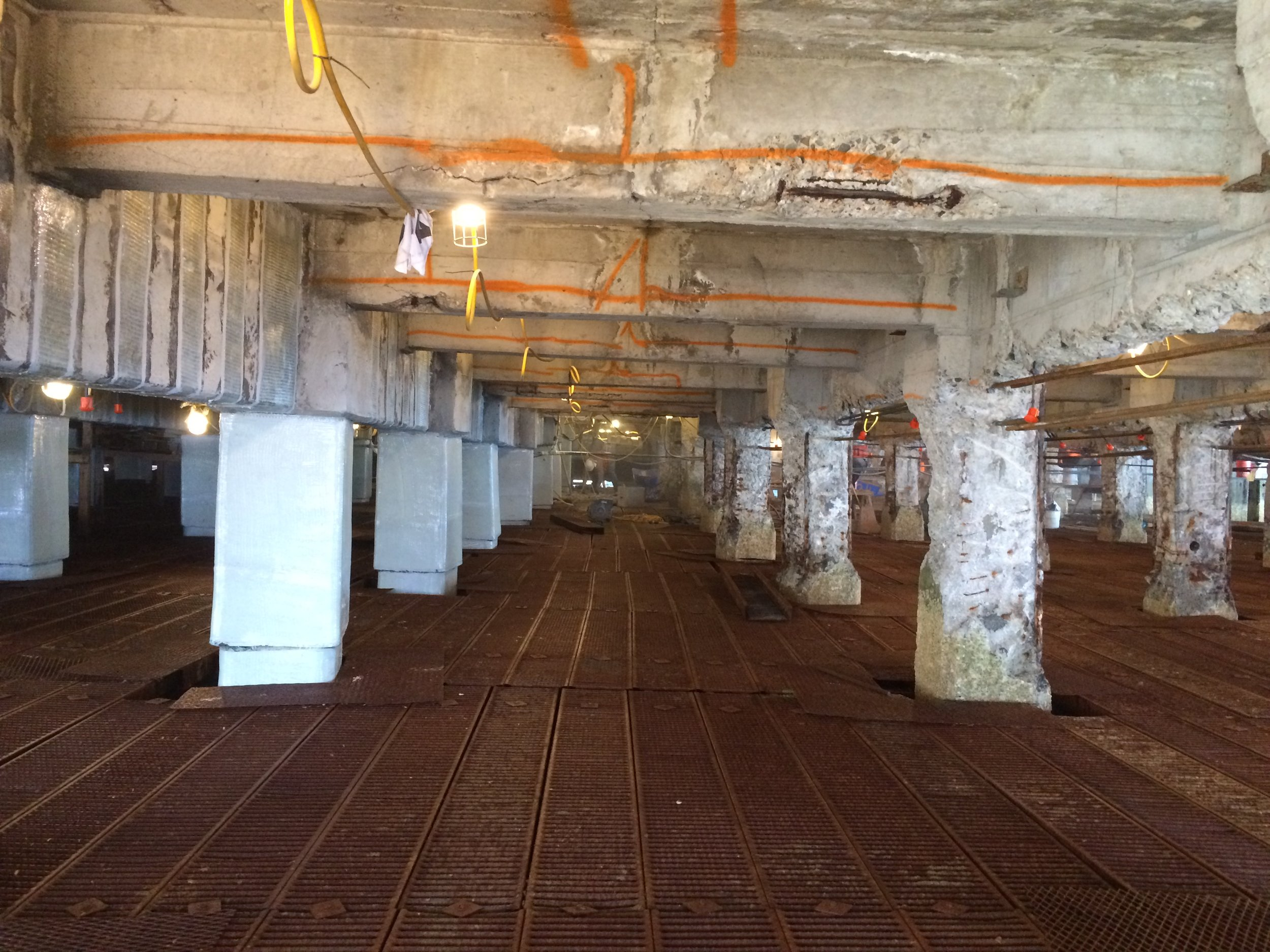 PRESS RELEASE: Fiber Reinforced Polymer (FRP) Repair To National Historical  Pier 3 Nearing. Valentine Corporation ...