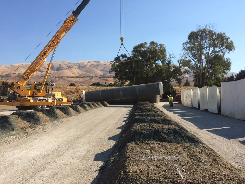 Willow Slough Sutter bypass job for the Department of Water Resources- Valentine Corp General Engineering Contractors.jpg