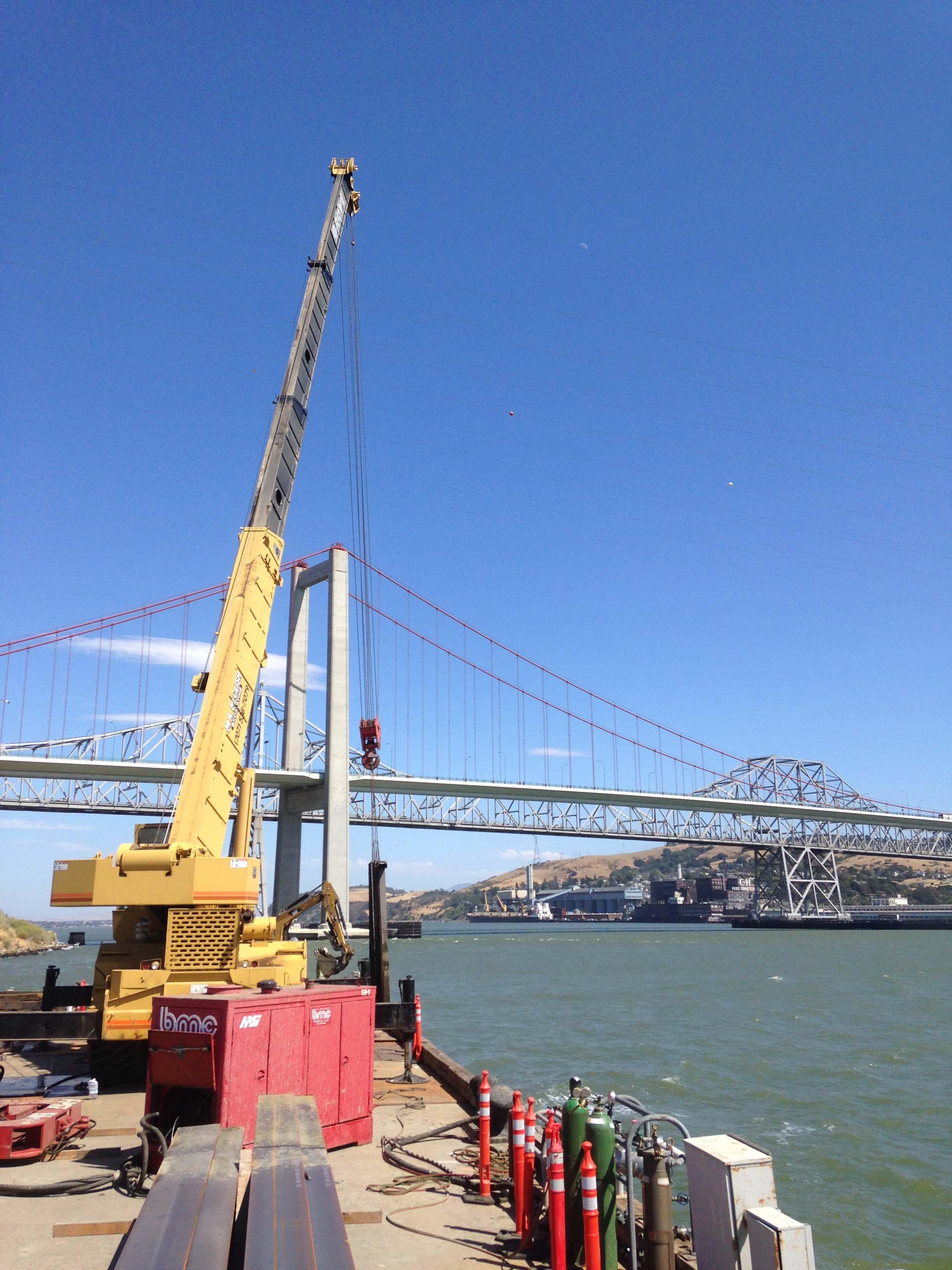 Bay Areau0027s Complex Marine, Wharf, Sea Level Rise And Pile Restoration