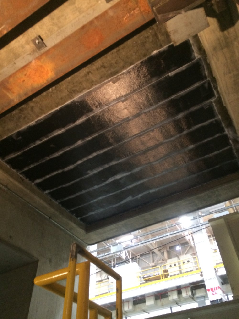 Fiber Reinforced Polymer FRP  Commercial Interior Slab Strengthening for additional load.JPG