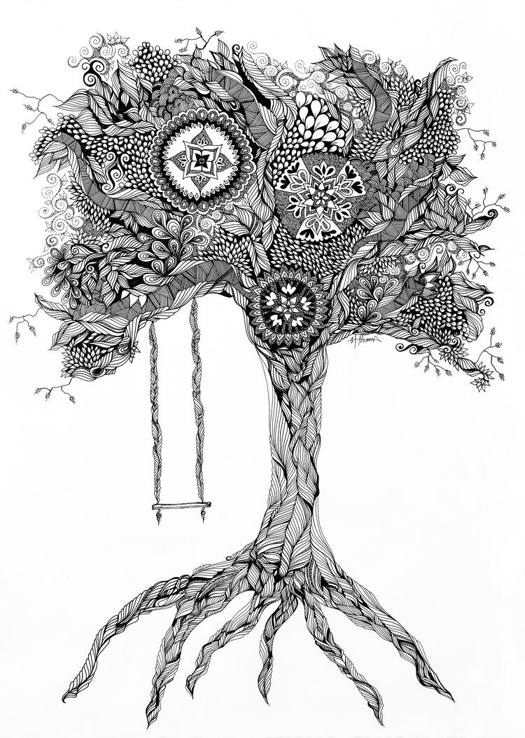 tree of life wilderness road