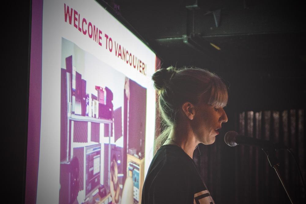 Queensyze keynote, Groundwerk Listening Party, The Media Club