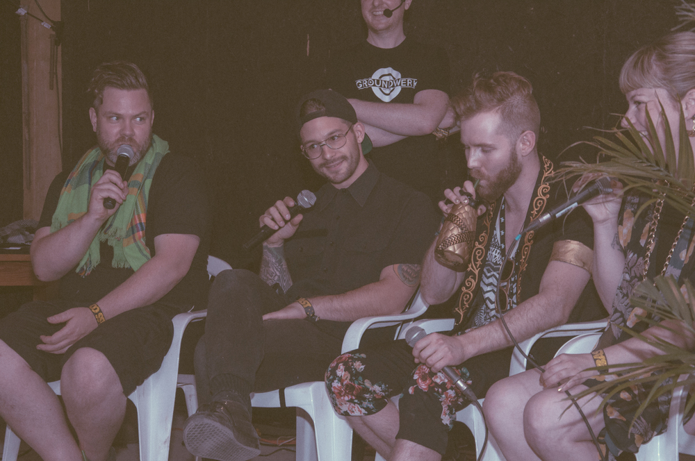 Groundwerk Panel Discussion at Bass Coast Festival