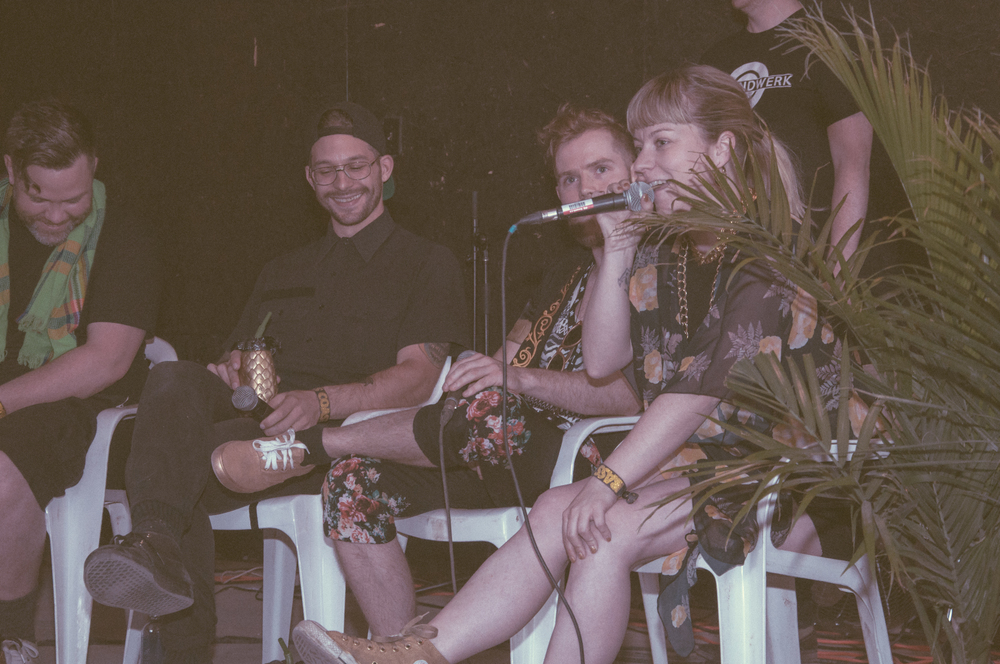 Groundwerk Panel Discussion at Bass Coast 2016