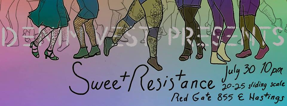 DENIM VEST PRESENTS SWEET RESISTANCE AT RED GATE
