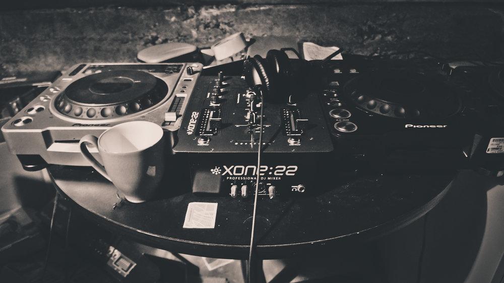 Iain Howie DJ rig