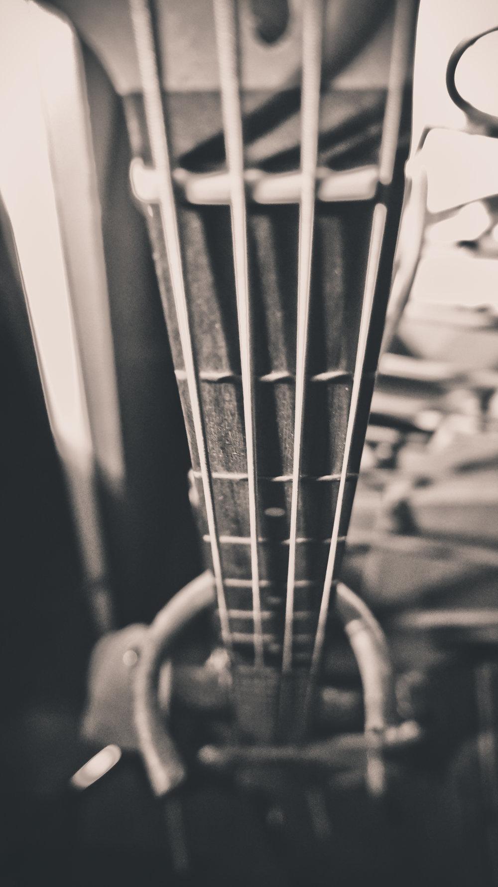 Iain Howie  bass guitar
