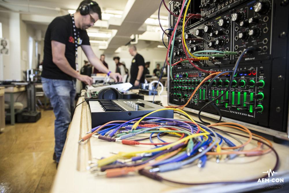 Gear Swap at AEMCON. Photo by Caitlin Varrin