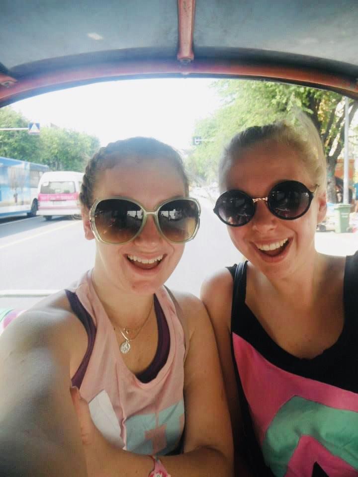 Cruising in a Tuktuk