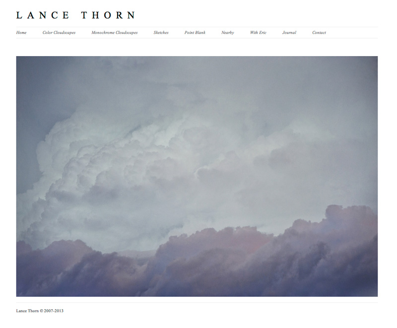 2013: Current Website