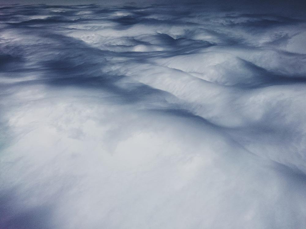 Cloudscape at Fertile. Smartphone camera.
