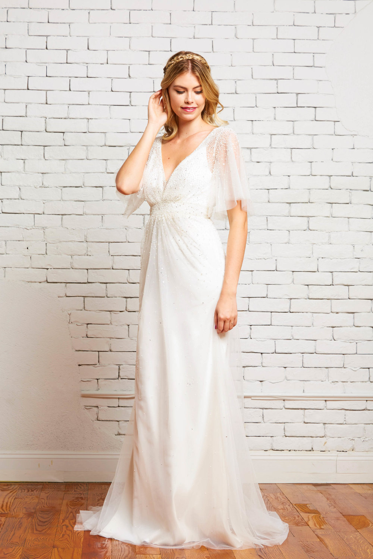 18A. Sabina Front-Rebecca Schoneveld-2-93_flutter_sleeve_deco_inspired_romantic_beaded_v_neck_column_gown.jpg