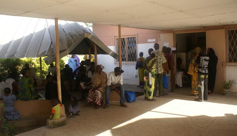 Treatment center in Bouake, Ivory Coast