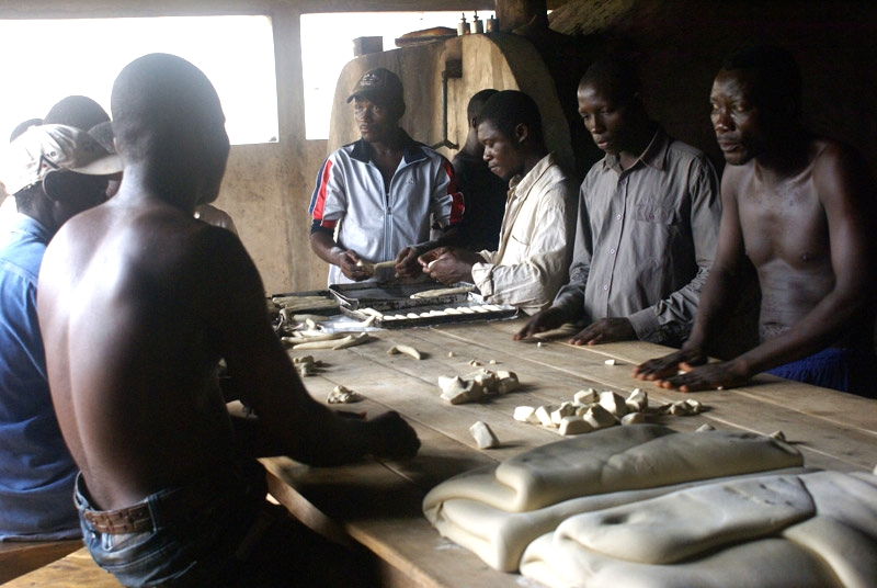 Training in bakery