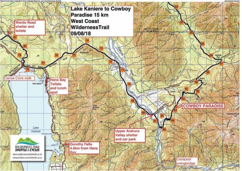 Lake Kaniere to Cowboy Paradise