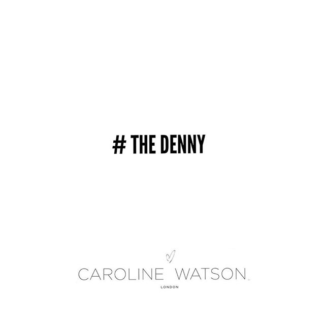 Join Our Mailing List & Stay Up To Date With All Things @carolinewatsonlondon Visit www.caroline-watson.com Scroll To 'Newsletter Sign Up ' & Simply  Enter Your Email Address .  See You There ! #thedenny #carolinewatsonlondon #yourlifeinyourbag #yourlife #yourbag #yourrules