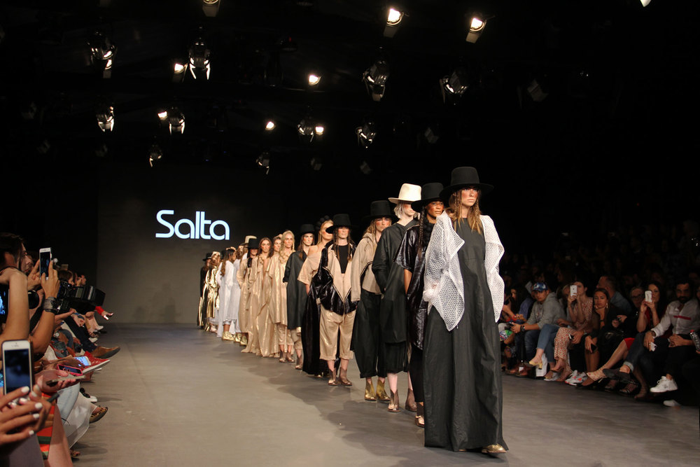Salta Fall/Winter 2016 collection. Fashion Forward Season 7.