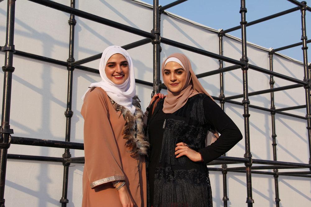 Rawan and Suzan Al Sadi