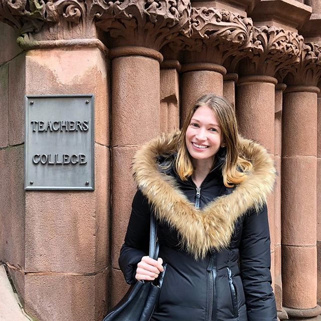Back to school. 🎓 I'm so excited to start a master's in communication and education at Columbia this spring. New York City, here I come! 🎉
