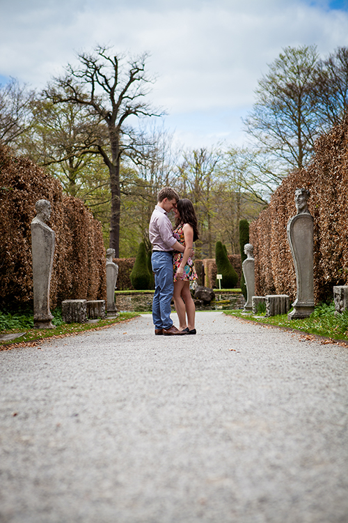 Pre-Wedding Shoot at Chatsworth House