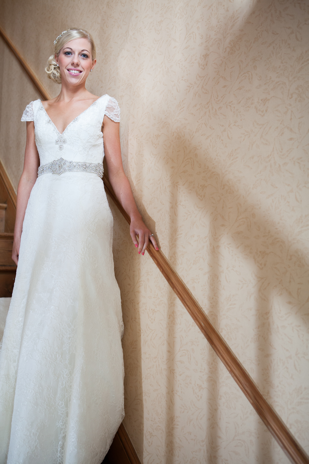 Bridal portrait - wedding photographers derby